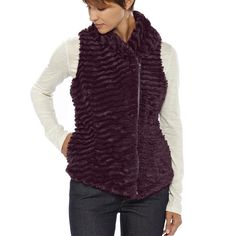 So soft and fuzzy, Patagonia Women's Pelage Fleece Vest!  Love this!