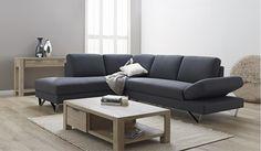 Element Corner Fabric Chaise Lounge | Focus on Furniture