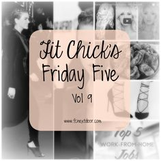 Friday Five – Vol 9