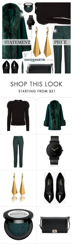 """David and Martin Jewellery 14"" by cly88 ❤ liked on Polyvore featuring Temperley London, Mary Katrantzou, South Lane, Yves Saint Laurent and Chanel"