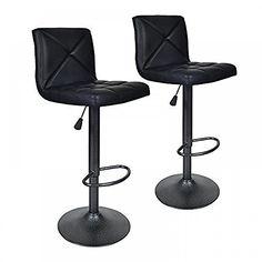 Black 2 PU Leather Modern Adjustable Swivel Barstools Hydraulic Chair Bar Stools, http://www.amazon.com/dp/B018VDRTWE/ref=cm_sw_r_pi_awdm_x_gzl9xbVA97YNT