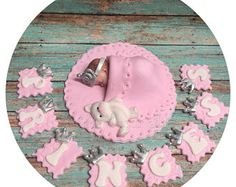 PRINCESS  BABY SHOWER Cake Topper Fondant Cake Topper baby