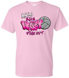 Pink Out Basketball T-Shirt #breastcancer #breastcancerawareness ...