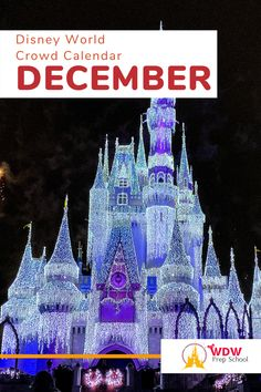 Planning to visit Disney World in December? Check out our FREE December Crowd Calendar for help finding the least crowded parks for each day of your trip. Disney World Crowd Calendar, Walt Disney World, Disney Planning, Disney Trips, Parks, December, How To Plan, Day, Check