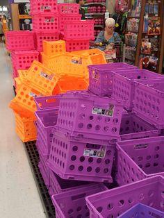 Colorful bins