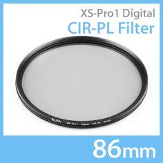 New Elva Camera Digital CIR-PL 86mm Filter Circular Polarizing Slim Filter #Elva