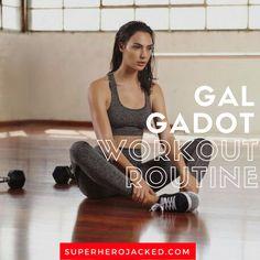Gal Gadot Workout and Diet Plan : Train like Wonder Woman