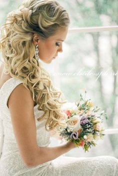 Sophisticated Wedding Hairstyle Inspiration - Hairstyle: Elstile