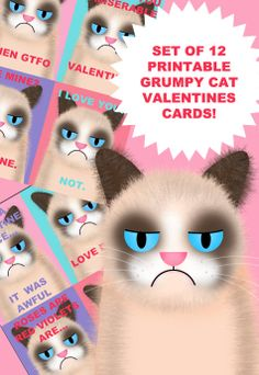 Grumpy Cat I Hate You Love Card  Community Post 17 MustHave