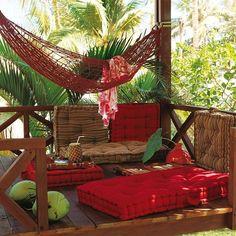 E o sábado começa assim gostoso e preguiçoso! #hammock #hammocklife #timetorelax #relaxtime #inspiration #wonderful #beautiful #amazing #awesome #happy #architect #interiordesign #style #decor #gorgeous #home #homewares #boho #instalike #instalove #instahome #instadecor #instadecoration #instadecoração #montacasa by @montacasa