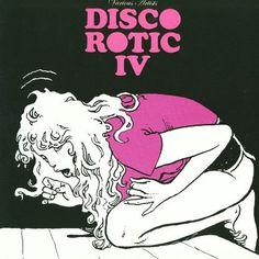 "Milo Manara 2006 Various Artists - Disco Rotic IV (12"") [Disco Rotic EDLP04] #albumcover #comics"