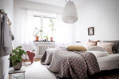 Why, hello there! I'm just nipping in to share this beauty of a Swedish apartment with you. Styled by Emma Fischer for Bjurfors , the warm...