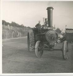 "Burrell General Purpose Engine, 3164 ""Dauntless"", AH 5799 Steam Tractor, Steam Engine, Steam Locomotive, Tractors, Engineering, Division, Purpose, Knowledge, Vans"