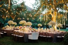 Whimsical Reception Lighting