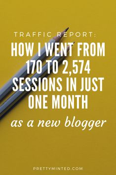I was in plateau hell after 4 months this blogging, but by implementing these strategies as part of my blog goals, I saw amazing growth on my new baby blog, that increased my page sessions, traffic and subscriber count. #bloggoalsreports #howtoblog #blogtips #trafficreport
