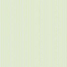 Sage Mini-Stripe Fabric by the Yard | Discount Sage and Off-White Mini-Stripe Fabric | Carousel Designs