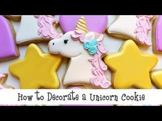 Flour Box Bakery — How to Decorate a Unicorn Cookie