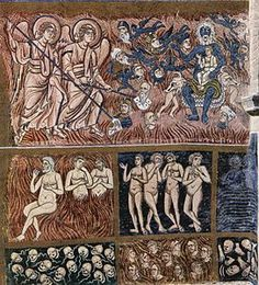 detail of The Last Judgment- century Byzantine mosaic from the Basilica of Torcello, Venice Santa Maria, Peggy Guggenheim, Early Christian, Christian Art, The Last Judgment, Jean Arp, Byzantine Art, Medieval Art, Cello