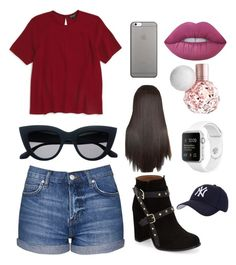 """""""Untitled #20"""" by roma-sutopa ❤ liked on Polyvore featuring Topshop, Native Union, Hartford and Lime Crime"""