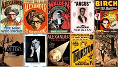 200 Magical  Print Ready  Vintage Magician s Posters - Print & Sell, FREE P&P!
