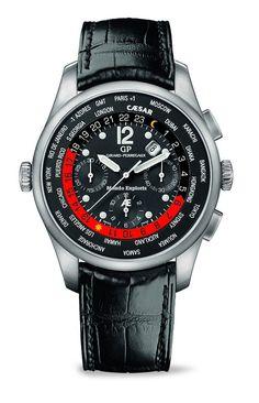 Girard-Perregaux World Timer #luxurywatch #GirardPerregaux Girard-Perregaux. Swiss Watchmakers watches #horlogerie @calibrelondon