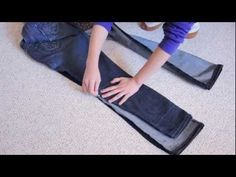 How to Make Skinny Jeans from Flare or Boot Cut Jeans