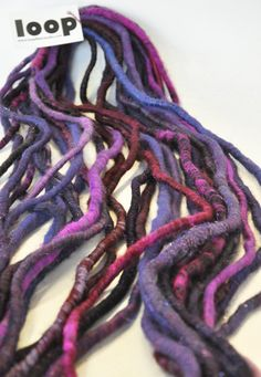 JUICY  Hardcore Art Yarn by Loop by loop