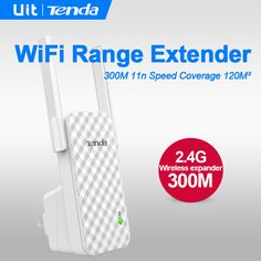 Tenda A9 Wireless Router,Wireless Range Extender,Expander,Wifi Signal Amplifier,Repeater,Enhance AP Receiving Launch,Client + AP //Price: $23.00      #socialenvy 4g Wireless, Wireless Router, Wifi, Product Launch, Range, Shopping, Cookers, Wifi Router, Ranges