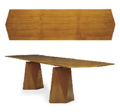 View Prototype diamond dining table by Gio Ponti on artnet. Browse upcoming and past auction lots by Gio Ponti. Furniture Dining Table, Fine Furniture, Wood Table, Dining Room Table, Vintage Furniture, Furniture Design, Gio Ponti, Mobiles, Elements Of Design