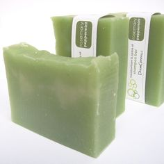 Rosemary Peppermint Shampoo Bar with Jojoba and by DressGreen