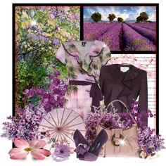 """""""Purple Rush"""" by garbowvu on Polyvore"""