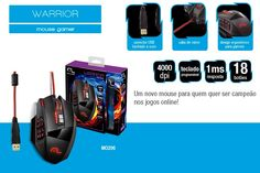Mouse Profissional Laser 18 Botoes 16400 Dpi Usb