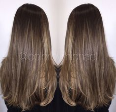 Natural balayage want want want this color! Brown Blonde Hair, Light Brown Hair, Brunette Hair, Dark Hair, Hair Color And Cut, Brown Hair Colors, Hair Cut, Balayage Hair, Brown Balayage