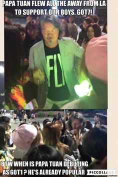 MARK'S DAD. AKA. PAPA TUAN NEEDS A MANAGER #FLYINSEOUL DAY1 | allkpop Meme Center
