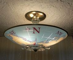 Nautical Ceiling Light And Captain S Lights Ceilings With Fixtures Flush Mount 236x195px