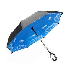 USMC United States Marine Corps Compact Foldable Rainproof Windproof Travel Umbrella