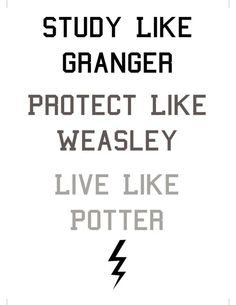 But try to avoid trouble where you can, unlike Fred and George.