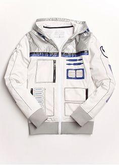 Star Wars R2-BOT-D2-IT Track Jacket by Marc Ecko - Marc Ecko Enterprises