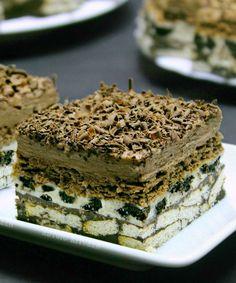 Diy Food, Nutella, Tiramisu, Oreo, Biscuit, Ethnic Recipes, Pies, Tiramisu Cake, Biscuits