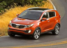 kia sportage 2012 - Not sure what color I want but this is nice