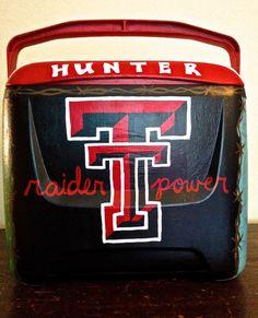 Cooler for Daddy- Raider Power, Texas Tech alumn