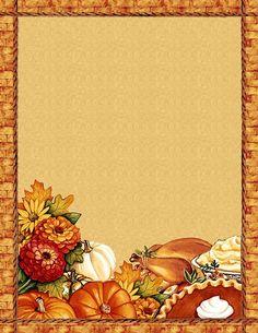 free thanksgiving_blank recipe page Printable Recipe Cards, Printable Paper, Thanksgiving Greeting Cards, Thanksgiving 2020, Stationary Printable, Fall Wallpaper, Note Paper, Paper Cards, Scrapbook Paper