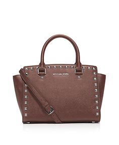 Michael Michael Kors Satchel - Selma Stud Medium - was $328.0, now $229.0 (30% Off). Picked by mickster @ Bloomingdale's