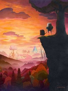 This is beautiful! Adventure Time is so awesome!