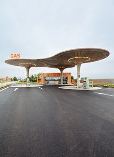 Weird and wonderful gas stations from around the world   - A place that symbolizes freedom, traveling and the wind of change: It's a Gas! is going in search of the most unique gas stations around the world.