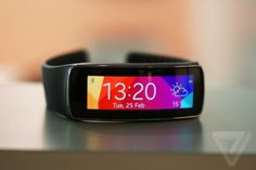 The Gear Fit is what wearables should look like