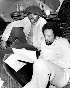 Classic Treasure: Donny Hathaway & Quincy Jones - Nicky J. Music Icon, Soul Music, My Music, Indie Music, Quincy Jones, Old School Music, Soul Funk, Soul Jazz, Cinema