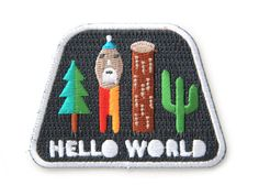 Are you a lumberjack? Do you live in a log cabin? Have you ever gone for a walk in the forest?  Then this patch is for you!! Snag this patch and