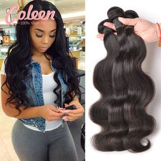Saçlarin kapatilmasi Hair Weaving Brazilian Virgin Hair Body Wave 3 Bundles Brazilian Body Wave Brazilian Hair Weave Bundles Human Hair 100% Virgin Brazilian Hair * Bu bagli bir çam AliExpress oldugunu.  AliExpress web sitesini girmek için ZIYARET dügmesine tiklayin.