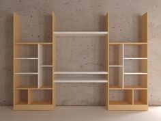 Bookshelve with tv cabinet